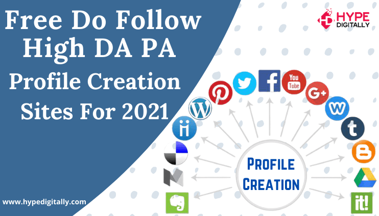 Profile Creation, SEO Services